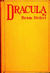 Première couverture de Dracula par Bram Stoker
