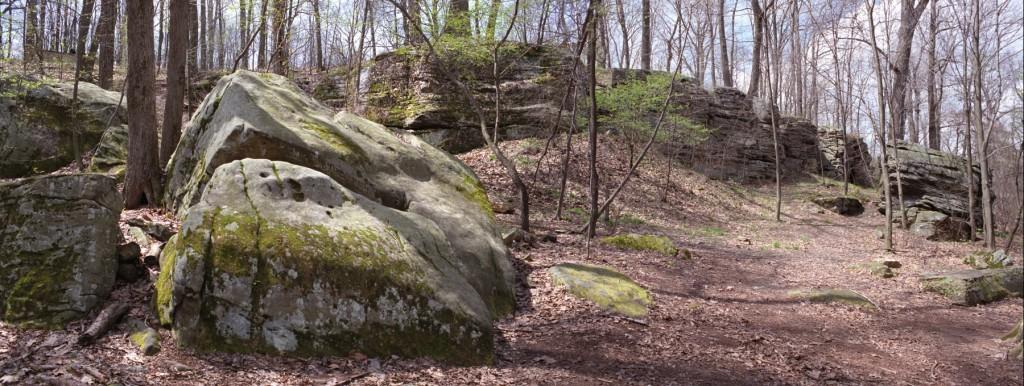 Site de la bataille de Jumonville Glen. Photo : Rarkm (2007)