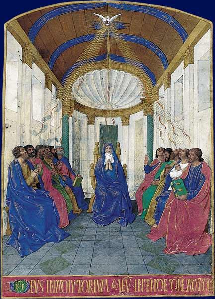 Jean Fouquet (XVe siècle) La Pentecôte