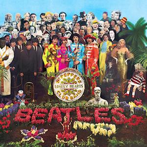 Couverture pop-art de l'album