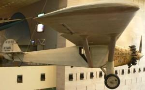 Le Spirit of St. Louis au National Air and Space Museum de Washington Photo : Raul654 (2005)