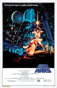 Affiche originale du film Lucasflm (1977)