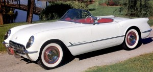Chevrolet Corvette 1953. Source : The Old Car Manual Project