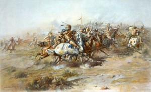 Custer_Fight_Russell