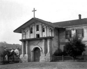Mission San Francisco de Asis, ca 1880-1902. Source : Denver Public Library