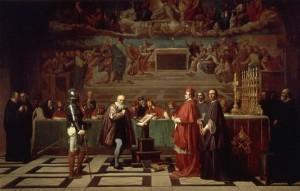 Galilée devant le Saint-Office. Joseph-Nicolas Robert-Fleury (1847)