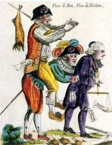 Caricature_Tiers-État_aristocratie_clergé