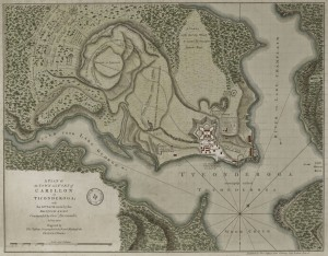 Plan_Town_Fort_Carillon_Ticonderoga_Jefferys