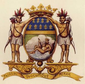 Armoiries de la Compagnie des Indes Orientales