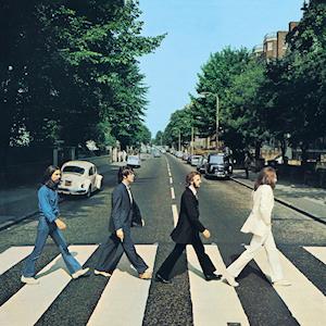 Couverture d'Abbey Road Photo : Iain Macmillan (1969)