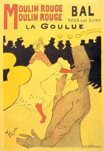La Goulue Affiche lithographiée Henri de Toulouse-Lautrec (1891)