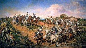 Independência ou Morte! Huile sur toile de Pedro Américo (1888). Source : Museu Paulista