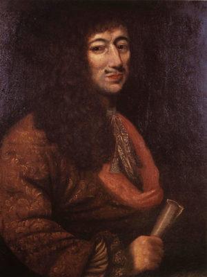 Jean Talon Huile sur toile attribuée au frère Luc (1671)