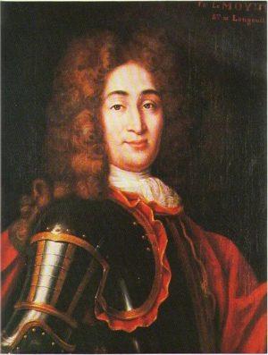 Portrait de Charles Lemoyne de Longueuil. Anonyme (s.d.)