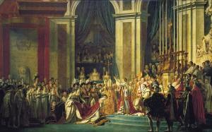 Le sacre de Napoléon Huile sur toile de Jacques-Louis David Source : Wikimedia Commons