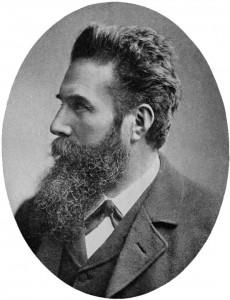 William Röntgen en 1901 Source : Generalstabens Litografiska Anstalt