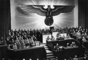 Discours d'Hitler devant le Reichstag après la déclaration de guerre