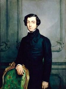 Alexis de Tosqueville Huile de Théodore Chassériau (1850)