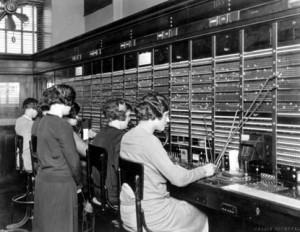 La centrale d'AT&T à New York en 1927 Source : AT&T