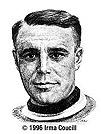 Joe Malone Dessin de Irma Cossell (1995) Source : Temple de la renommée du hockey
