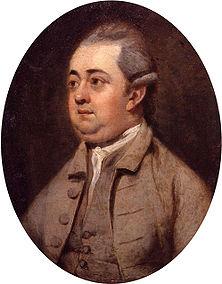 Edward Gibbon Huile sur toile de Henry Walton (1773) Source : Wikimedia Commons