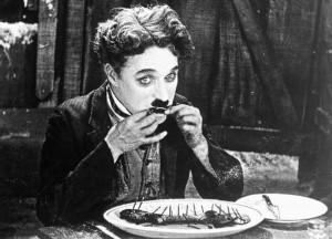 Publicité pour le film La Ruée vers l'or Photo : United Artists (1925) source : wikimedia commons