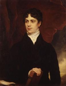 John George Lambton1st Earl of Durham Huile sur toile. Copie de Thomas Philipps (ça 1820) Source : Wikimedia Commons