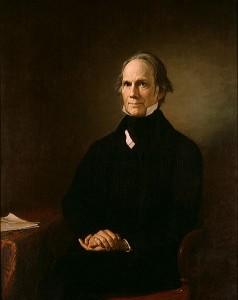 Henry Clay Huile sur toile de Henry Darby (1858) Source : Bureau de l'archiviste du Sénat américain