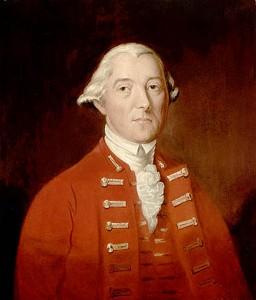 Guy Carleton, gouverneur général des Canadas 1791-1796 Portrait anonyme (XVIIIe siècle) Source : Wikimedia commons