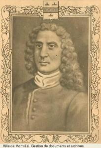 Charles Huault de Montmagny Artiste inconnu Source : Archives de la Ville de Montréal
