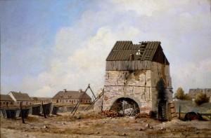 Les Forges du Saint-Maurice Huile sur toile d'Henry Richard S. Bunnett (1886) Source : Musée McCord