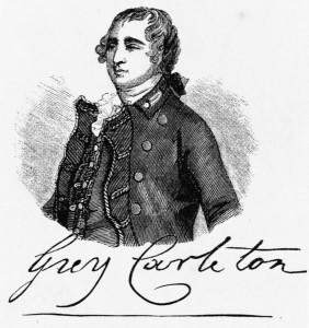 Guy Carleton Gravure sur bois anonyme (XIXe siècle) Source : Library of Congress