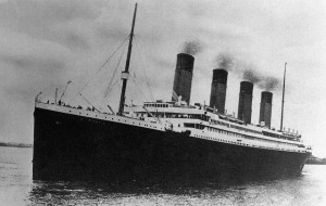 Le Titanic quitte Southampton Photo anonyme (19120