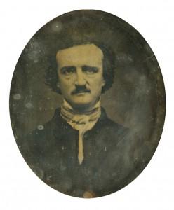 Eggar Allan Poe Daguerrotype de thur (1848) Soyce reserve collection anituarian
