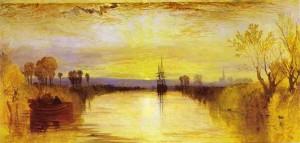 Chichester Canal Huile sur toile de Joseph Mallord William Turner (ca 1828) Source : Wikimedia Commons
