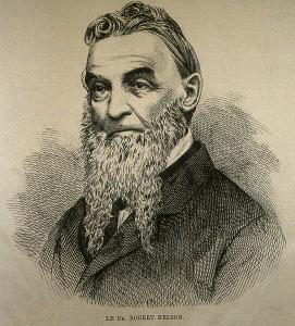 Le Dr Robert Nelson Gravure parue dans l'Opinion publique (1873) Source : BANQ